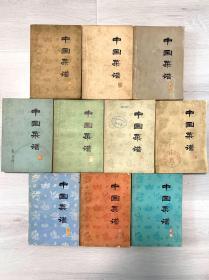 中国菜谱(10册)北京  上海  广东  山东  湖南  浙江  湖北  江苏  四川 安徽
