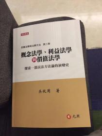 概念法学、利益法学与价值法学 (民事法学与法学方法)