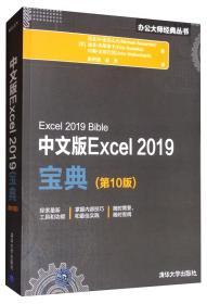 中文版Excel2019宝典(第10版)/办公大师经典丛书