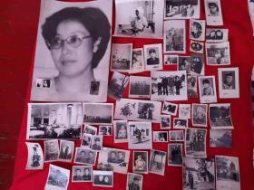 【文革老照片】美女 (22X30.4厘米)加一堆生活照。共55张  合售 。。看图。。