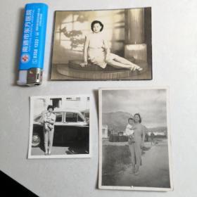 老照片3张合售(照2)
