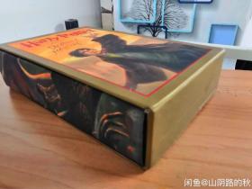 J.K.罗琳签名版《哈利波特与死亡圣器》收藏(Harry Potter and the Half-blood Prince)豪华特精装本带函套哈利波特
