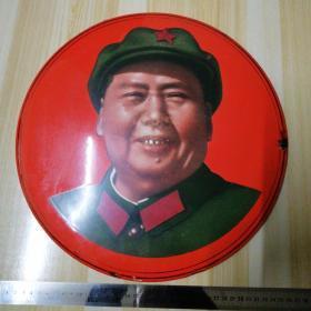 特大号毛主席像章