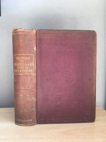 The Works of Charles Lamb  1885年 扉页钢板画页脱落~书感重 25*18cm