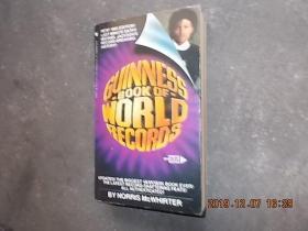 GUINNESS 1985 BOOK OF WORLD RECORDS 吉尼斯世界纪录 英文原版  32开,694页