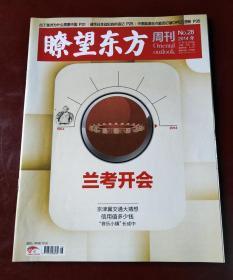 瞭望东方周刊(2014年第28期 兰考开会)