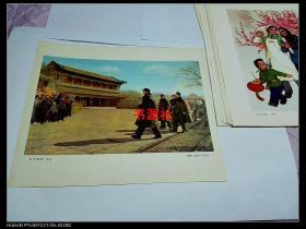 文革宣传画——东方破晓(油画(包老保真)1201印刷厂库存