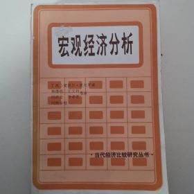 当代经济比较研究丛书 *宏观经济分析*