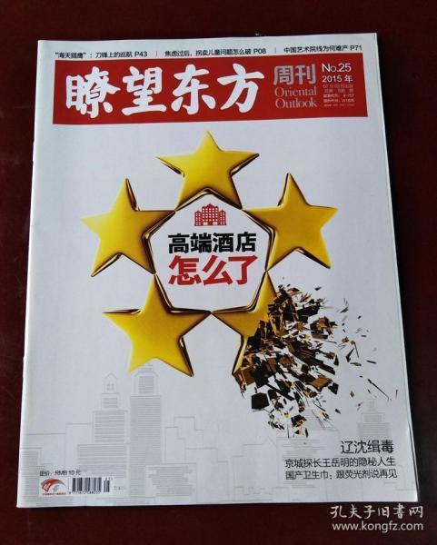 瞭望东方周刊(2015年第25期 高端酒店怎么了)