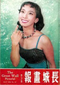 《长城画报》第87期 1958年5月 封面:毛妹