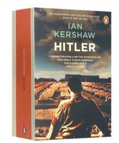 希特勒传 英文原版人物传记 Hitler 英国沃尔夫森历史学奖