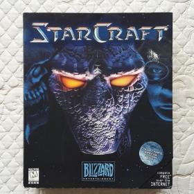 星际争霸 StarCraft 游戏光盘 游戏CD