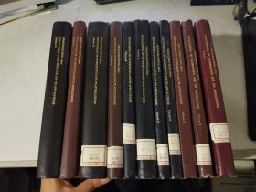 ENCYCLOPEDIA OF MATHEMATICS AND ITS APPLICATIONS 数学及其应用大全 第1、2、4、5、6、7、10、13、18、22、23(11本合售)