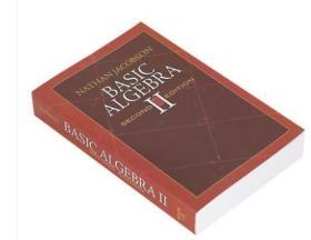 Basic Algebra II 基础代数2 第2版 英文原版 Nathan Jacobson内森雅各布森 Dover Publications