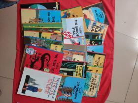 英文版)《丁丁历险记》23册合售