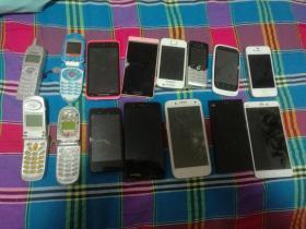 老手机 旧手机 坏手机 15部合售
