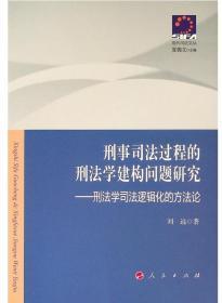刑事司法过程的刑法学建构问题研究——刑法学司法逻辑化的方法论—现代司法文丛