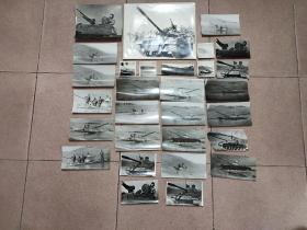 七八十年代——坦克兵训练照片——29张合售——大小不一