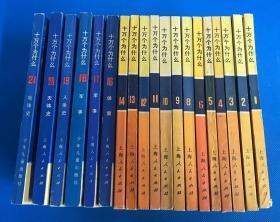 文革版《十万个为什么》共21册,缺第7、15两册