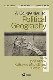 A Companion To Political Geography