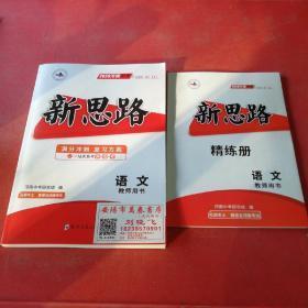 2020河南中考新思路语文教师用书+精练册2本合售