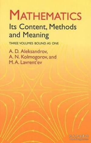 Mathematics:Its Content, Methods and Meaning