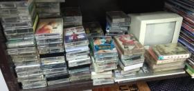 100盘90年代老磁带合售(成龙、邓丽君等)