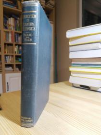 诺奖得主 Pauling的量子力学 Introduction to Quantum Mechanics: With Applications to Chemistry