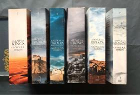 ( 英文原版6本合售 )A feast for Crows + A clash of kings + A storm of Swords 1、2+ A dance with Dragons 1、2