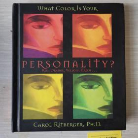What color is your personality? Cognitive psychology 你的个性是什么颜色?颜色心理学 精装 英文原版