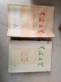 【馆藏老杂志】青海文艺 双月刊 创刊号 1975年1-6期+1976年1-6期