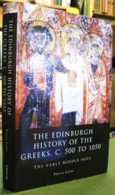 The Edinburgh History Of The Greeks, C. 500 To 1050