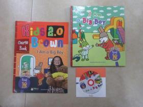 布朗儿童英语  Kids 2.0  Brown   I  Am   a  Big Boy  (Level  Tulo  Book  12) 硬精装  (附练习册、光盘)