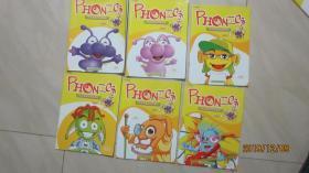 PoPoDoo波波嘟美语初级课程 自然拼音 [1-12]  (共12册)无光盘