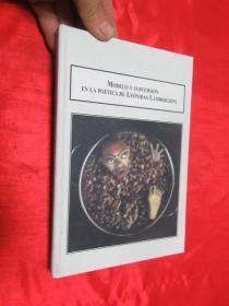 Modelo y subversion en la poetica de Leonidas La....    (小16开,硬精装 )     【详见图】