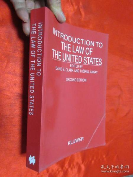 Introduction to the Law of the United States    (小16开)  【详见图】