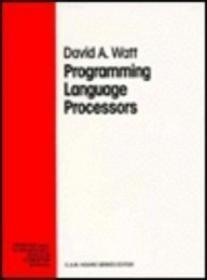 Programming Language Processors