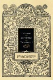The Best Software Writing I