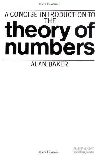 A Concise Introduction To The Theory Of Numbers