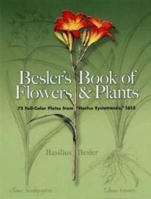 Beslers Book Of Flowers And Plants