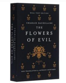 波德莱尔:恶之花 英文原版 Alma Classics:The Flowers of Evil 法国诗歌 文学 Charles Baudelaire