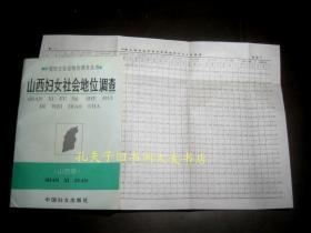《中国妇女社会地位调查丛书(山西卷)山西妇女社会地位调查》