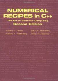 Numerical Recipes In C++