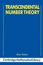 Transcendental Number Theory (cambridge Mathematical Library)