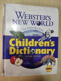 Websters New World Childrens Dictionary 韦伯斯特新世界儿童词典 韦氏新词典  精装超厚 英文版