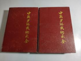 中国少林武术大全(上下册 16开大厚本 )