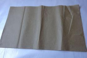手工制作老纸(毛边纸.竹纸.皮纸.书画纸)58张合售