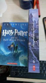 正版 Harry Potter and the Half-Blood Prince - Book 6 英文原版 哈利波特与混血王子 6 Harry Potter and the Half Blood Prince 美国版 青少年读物