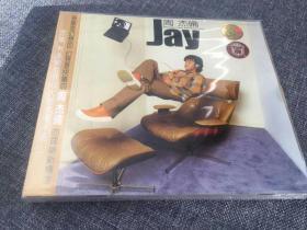 CD 周杰伦 同名专辑 全新未拆 上海音像正版 专辑