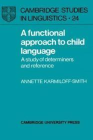 A Functional Approach To Child Language